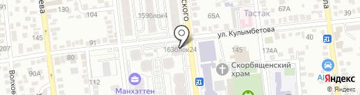 ISOTRADE на карте Алматы
