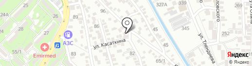 Арал на карте Алматы