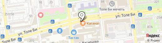 Turkis furkan textile на карте Алматы