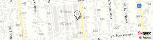 Водочет на карте Алматы