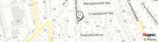 Производственная компания на карте Алматы