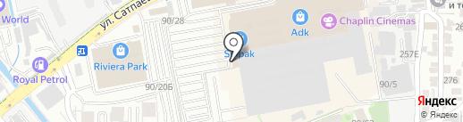 ADK на карте Алматы