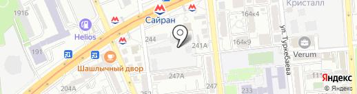 Ганнибал на карте Алматы