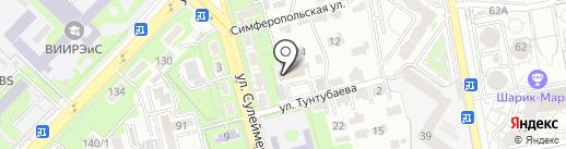 Leader service на карте Алматы