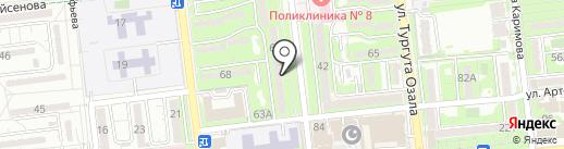 Маникюр Плюс на карте Алматы