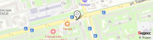 МиГ на карте Алматы