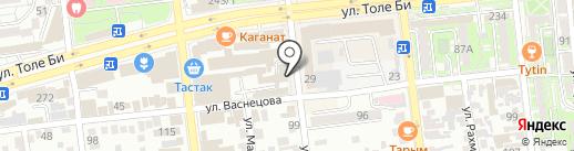 Перчики на карте Алматы