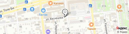 КазКурылысПласт на карте Алматы
