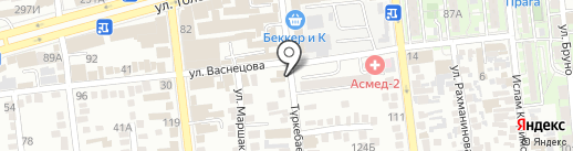 inSan на карте Алматы