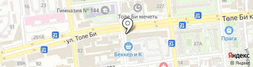 iTicket на карте Алматы