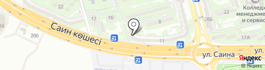 Фабрика звезд Анжелики Казабеевой на карте Алматы