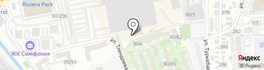 ЭТЛ XXI на карте Алматы