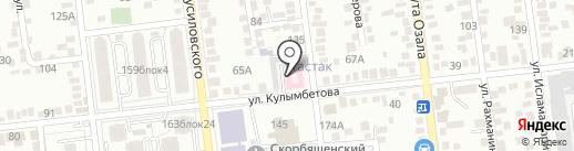 Разумная Мама на карте Алматы