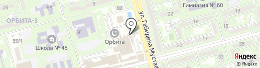 Ет-Мясо на карте Алматы