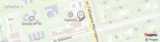 Реалист на карте Алматы