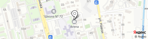 Fit Arena на карте Алматы
