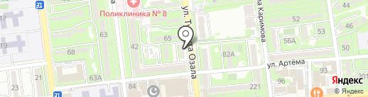 Sisters`Corner на карте Алматы