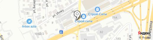 Кровля на карте Алматы