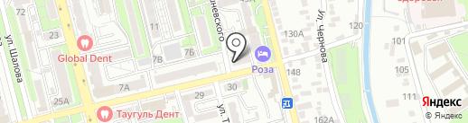 Discovery на карте Алматы