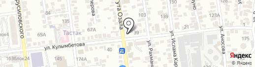 Дархан на карте Алматы