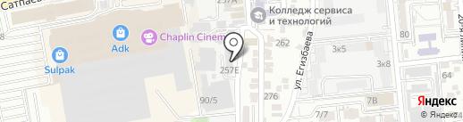Мед Центр Рекавери, ТОО на карте Алматы