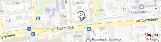 Fort Knox Ломбард, ТОО на карте Алматы