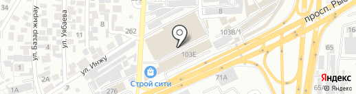 Магазин обоев на карте Алматы