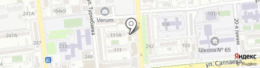 КАМЕРТОН на карте Алматы