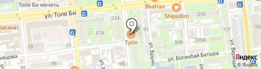 TV SHOP Almaty на карте Алматы