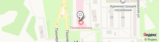 Нижневартовская районная больница на карте Излучинска