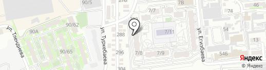 Бахтияр на карте Алматы