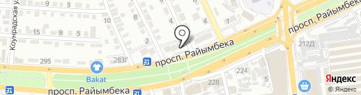 Айкыз Ломбард, ТОО на карте Алматы
