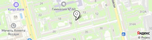 Мир позитива на карте Алматы