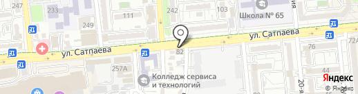 PARTTORG на карте Алматы
