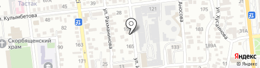 Лагманхана на карте Алматы