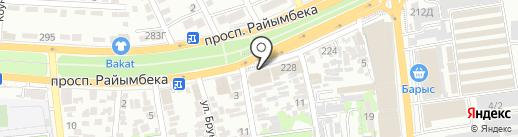 Shariki.kz на карте Алматы