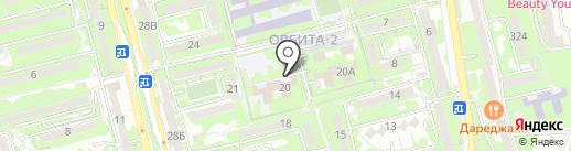 Алматинский колледж менеджмента и сервиса на карте Алматы