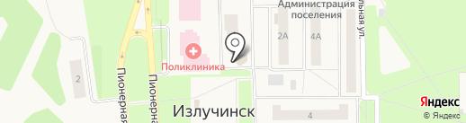 Бережная аптека на карте Излучинска