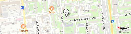 Ретранса 2030 на карте Алматы