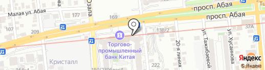 КЫЗМЕТ САЯХАТ на карте Алматы