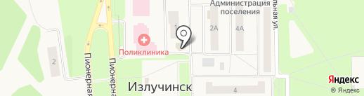 Текстиль-профи на карте Излучинска