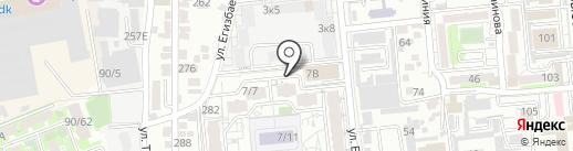 Asyl Tau на карте Алматы