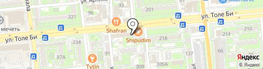 Food ONE на карте Алматы