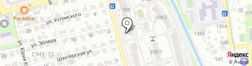 А2 на карте Алматы