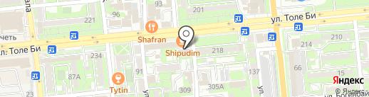 Нотариус Чирко А.В. на карте Алматы