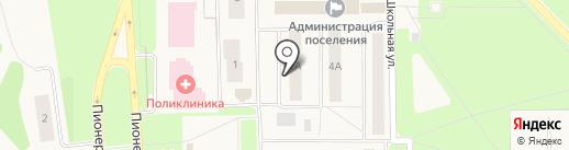 Нижневартовская районная центральная аптека №144 на карте Излучинска