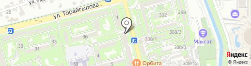 Берегите время на карте Алматы