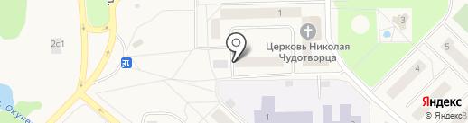 Amigo на карте Излучинска