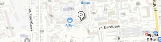 J & P на карте Алматы