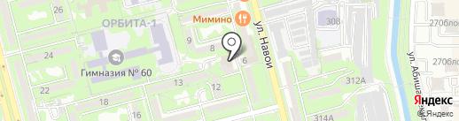 Динара на карте Алматы
